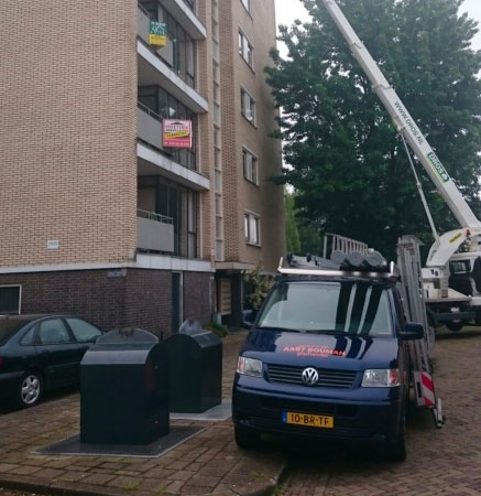 Glasvervanging flat Arnhem