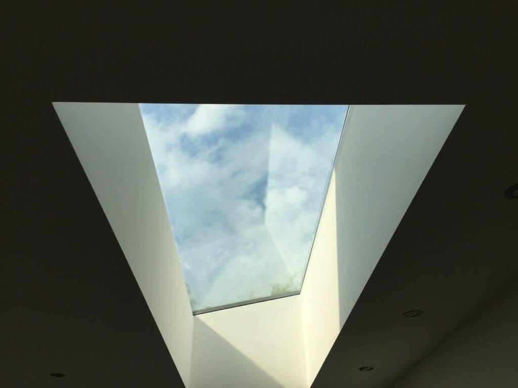 lichtstraat in plafond